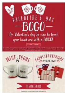 Caribou Coffee BOGO