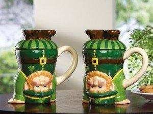 leprachaun coffee mugs