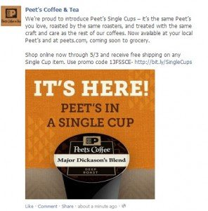 Peet's Coffee K-Cups